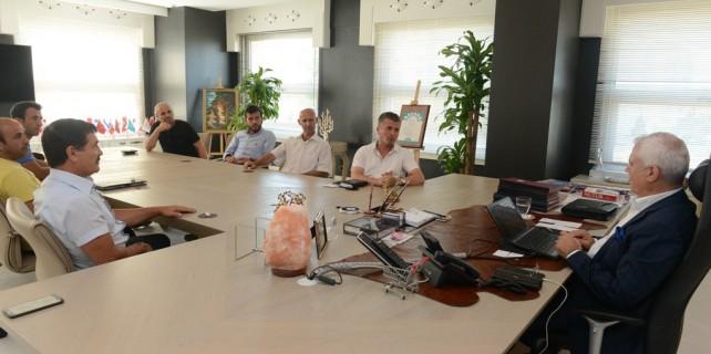 Bozbey'den Gençlik ve Spor Kulübü'ne tam destek
