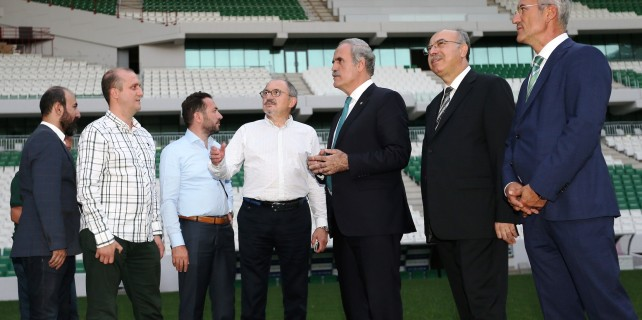 TSYD Bursa'dan Timsah Arena'ya çıkarma...