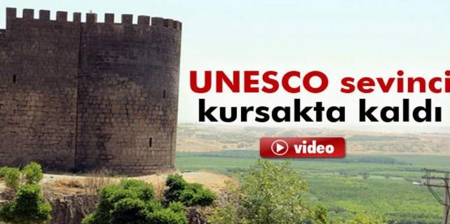 Unesco sevinçleri kursaklarında kaldı...
