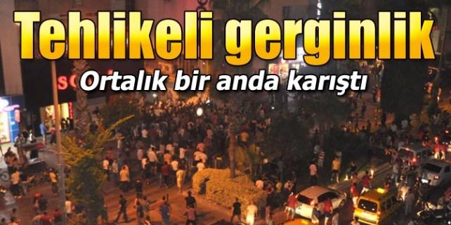 Tehlikeli gerginlik...HDP binasını bastılar