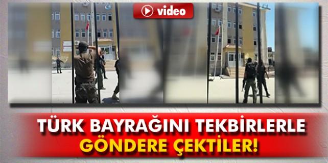 Silvan'ı PKK'dan temizlediler göndere bayrağı böyle çektiler