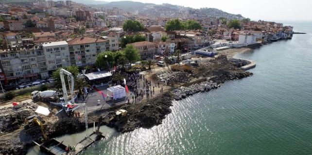 Temiz deniz için Mudanya'ya 100 trilyonluk yatırım