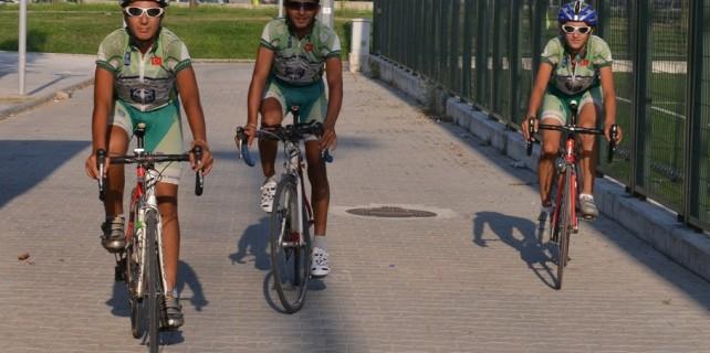 Bisikletçiler şampiyonaya iddialı gidiyor