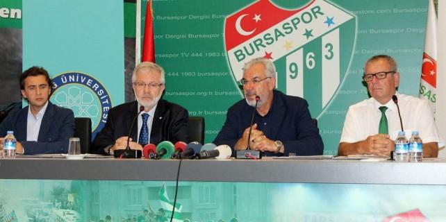 Bursaspor ve Uludağ Üniversitesi'nden dev işbirliği