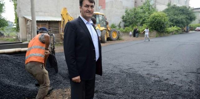 Osmangazi'de cadde ve sokaklar yenilendi