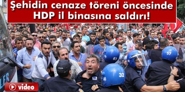 HDP binasını bastılar