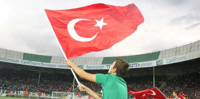Terörü protesto eden Bursaspor taraftarına şok ceza