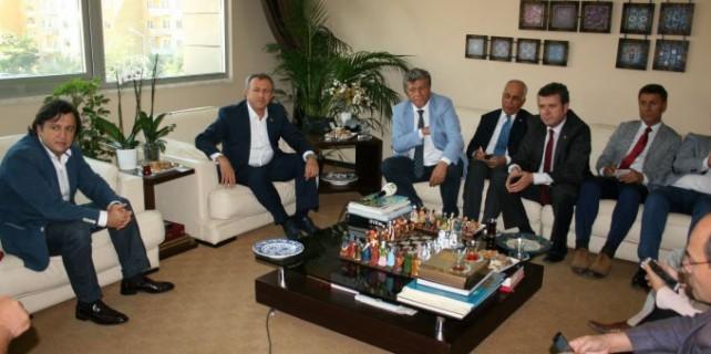 Balbay ve Çakmak'tan BGC'ye ziyaret