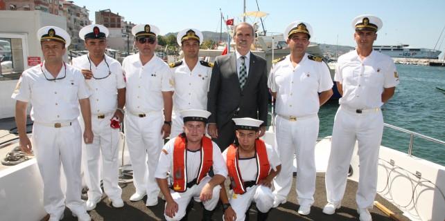 Büyükşehir'den 'Sahil Güvenlik'e destek