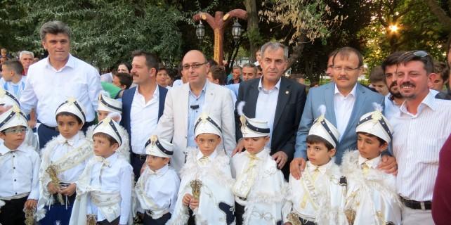 Burgazspor'da geleneksel sünnet şöleni