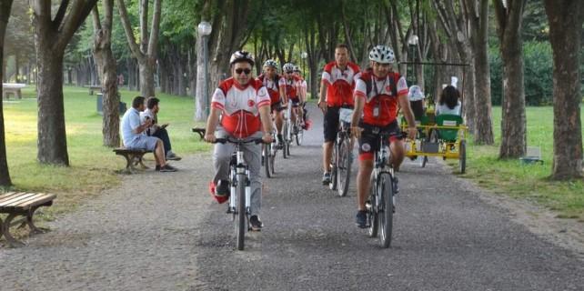 Bursa'ya bisikletli 112 ekipleri geliyor