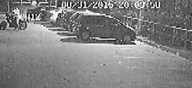 Motorsiklet hırsızları güvenlik kameralarına işte böyle yakalandı