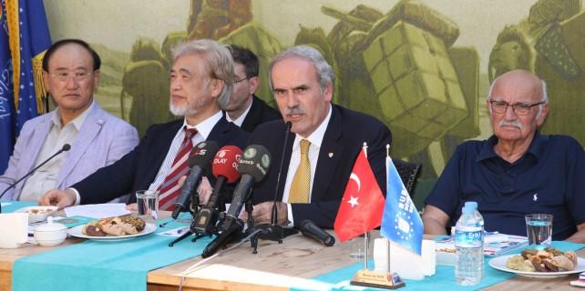 Bursa'da İpek Yolu buluşması