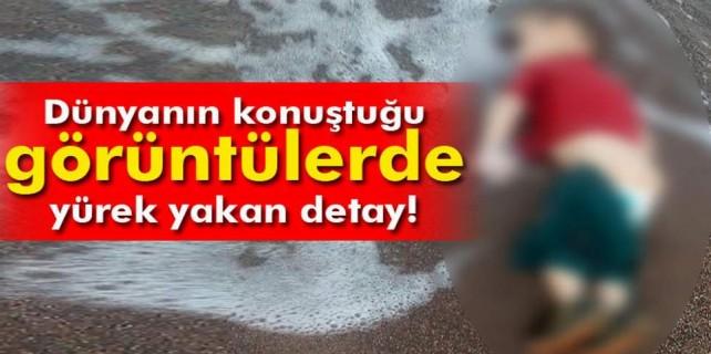 Cesedi kıyıya vuran çocuğun acı hikayesi