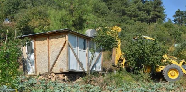 Uludağ Yolu'nda Bursa manzaralı kaçaklara af yok