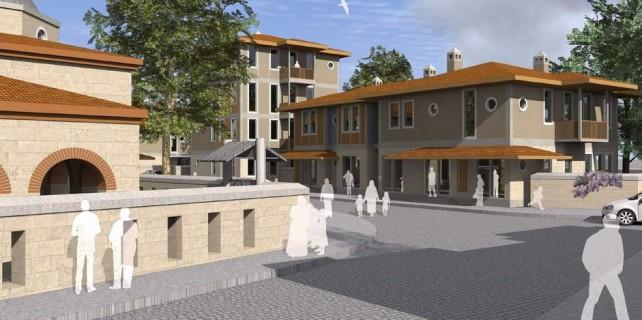 Bursa'ya Osmanlı mimarisinde toplu konutlar geliyor