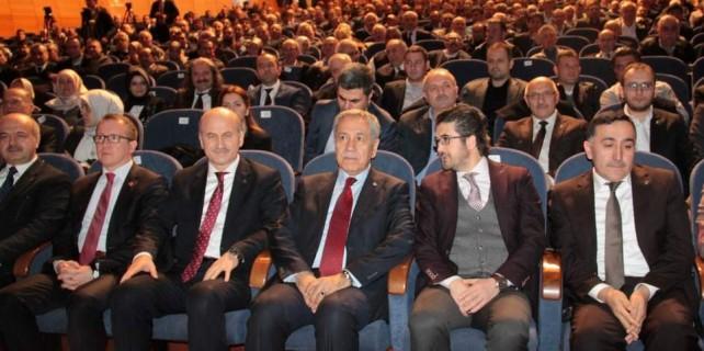 Arınç'tan Cemalettin Torun'a bu sözlerle destek