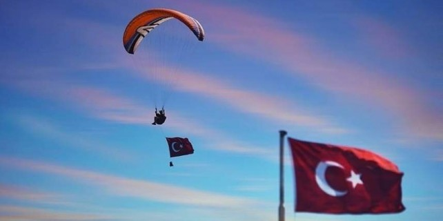 Bu fotoğraf Bursa'da çekildi...