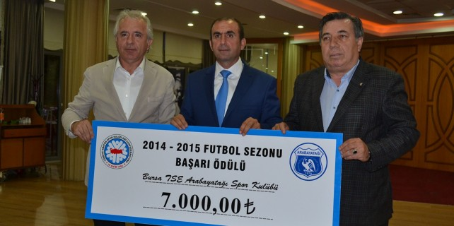 Bursa kulübüne TFF'den ödül