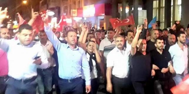 Terör yürüyüşünde Mudanya Belediye Başkanı'na istifa çağrısı