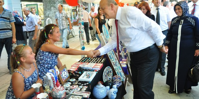 İznik'te çini festivali başladı