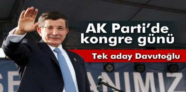 AK Parti'de kongre günü...