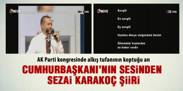 Ak Parti kongresinde Erdoğan'lı film