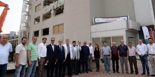 Osmangazi'de kentsel dönüşüme vatandaş desteği
