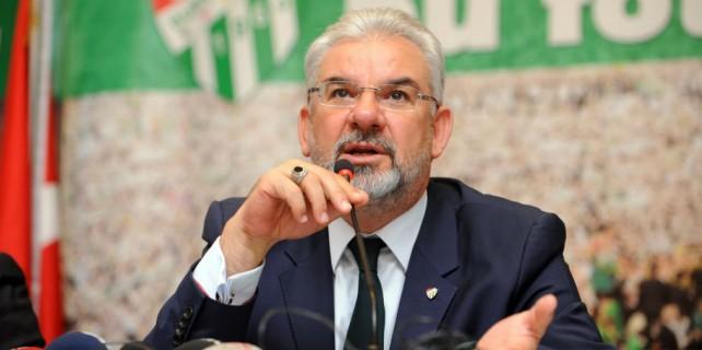 Bursaspor Başkanı'nın ceza isyanı