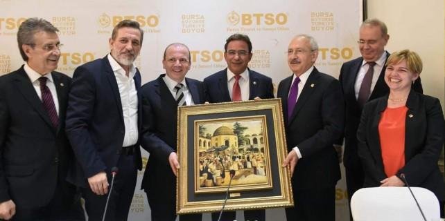 Kılıçdaroğlu Bursa iş dünyası ile buluştu