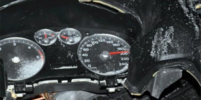 Kilometre 200'de takılı kaldı: 3 ölü