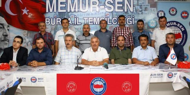 Bursa'dan kardeşlik mitingine 30 otobüsle çıkarma
