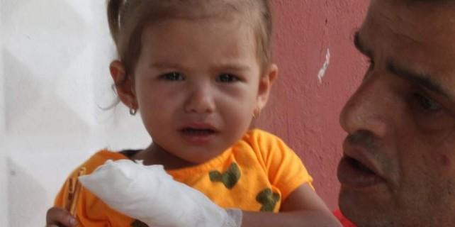 Bursa'da acı kaza...Dede öldü Ravza'nın kopan parmağını polis buldu