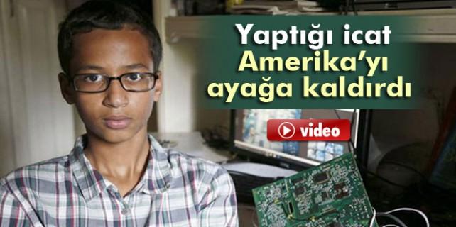 14 yaşındaki Muhammed Amerika'yı ayağa kaldırdı