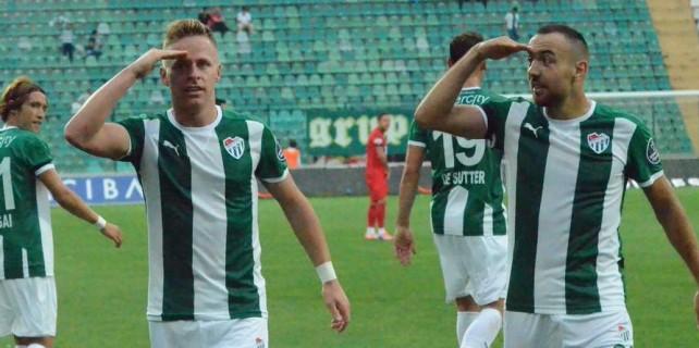 Bursaspor'da hedef 3 puan