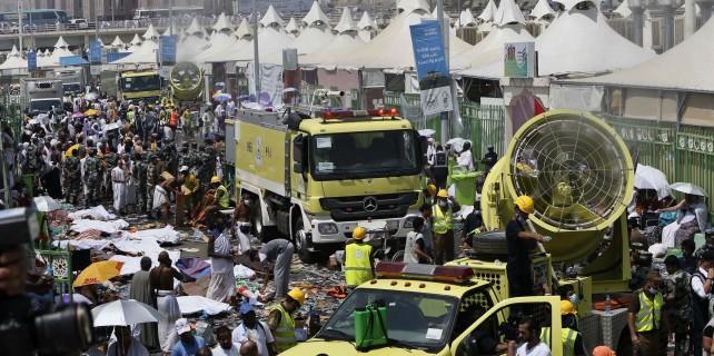 Hacda izdiham: Ölü sayısı 717'ye ulaştı, 18 Türk kayıp...