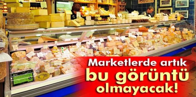 Marketlerde yeni dönem...