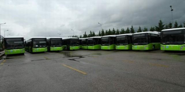 Bursa'nın doğalgazlı otobüsleri Türkiye'yi taşıyor