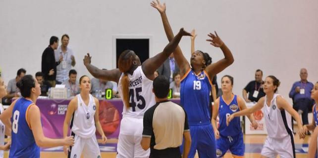 Bursa ekibi çeyrek finalde