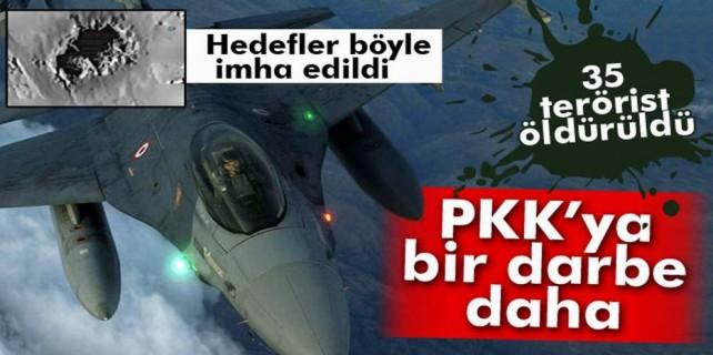 PKK hedefleri işte böyle vuruldu...
