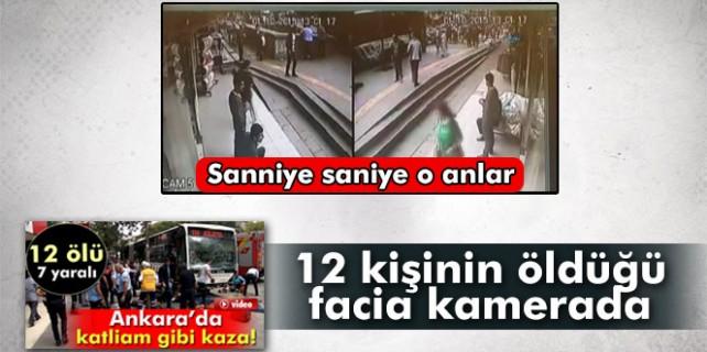 12 kişinin öldüğü otobüs kazası böyle oldu