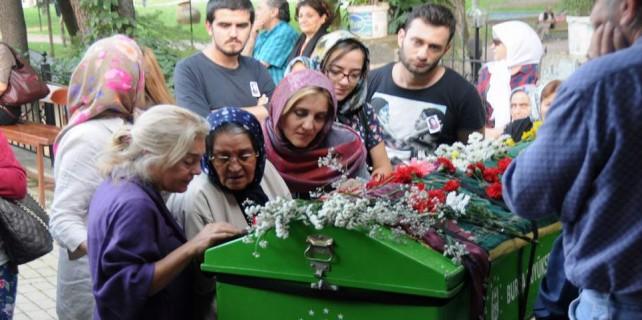Genç biniciye Bursa'da acı veda