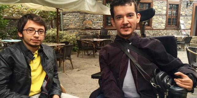 Engelli Can Ahmet'in azmi...