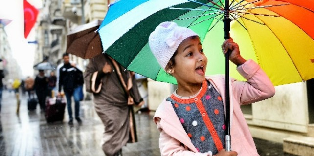 Dikkat..Şemsiyesiz çıkmayın