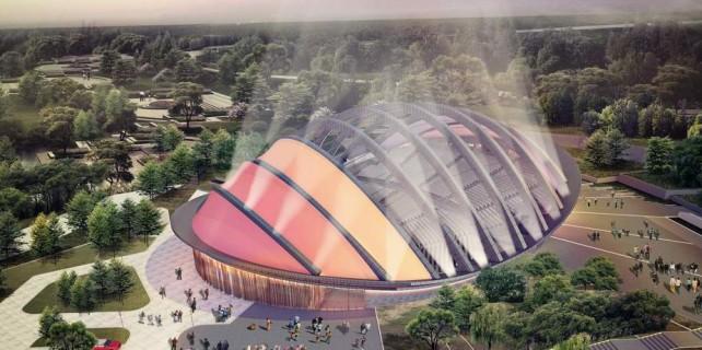 Bursa'nın yeni açık hava tiyatrosu 1.oldu
