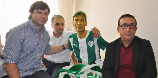 Bursaspor taraftarından acı haber