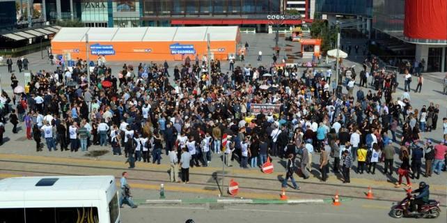 Bursa'da teröre tepki...