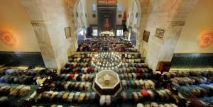 namaz yildirim camisi toplu cemaat