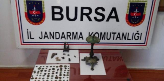 Bursa'da tarihi vurgun son anda önlendi