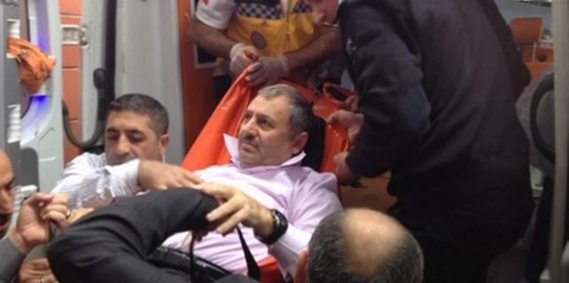 Kestel Belediye Başkanı'na silahlı saldırı